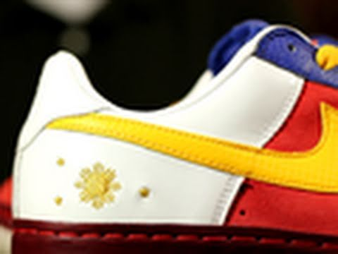Info 1-6: Nike Air Force I Jose Rizal Philippines Edition