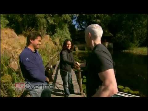 Anderson Cooper dives with dangerous Nile Crocodiles