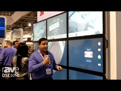 DSE 2014: 3M Showcases the C4267PW – the 42″ Multi-Touch Display