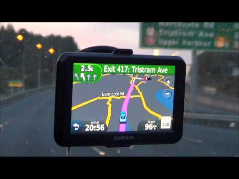 Garmin Nuvi 50 GPS  Actual Road Test