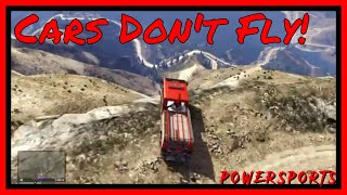 Lets Play GTA V - Episode 033 - Driving off The Mountain Compilation