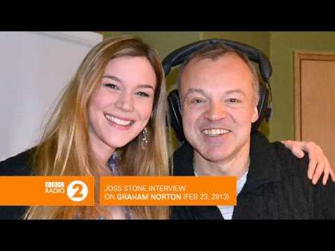 Joss Stone interview on Graham Norton (BBC Radio 2) - Feb 23, 2013 [AUDIO]
