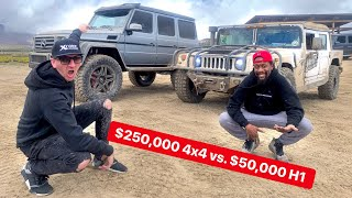 EXTREME 4X4 OFF-ROAD MUD CHALLENGE *MERCEDES VS HUMMER*