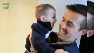 Funny Babies Confused by Twin Daddy Compilation - Cute Daddy and Baby Moments
