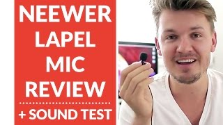 REVIEW: Neewer 3.5mm Hands Free Computer Clip on Mini Lapel Microphone // Chris Winter