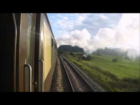 60009 Union of South Africa North Wales Coast Express BASH!!!!!!!!!! 19/8/2012 Re-Uploaded
