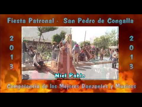 DANZA DE LAS TIJERAS DE CONGALLA-HUANCAVELICA 2013 (Presentación)