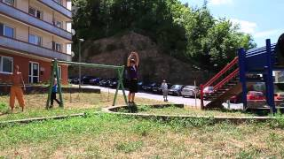urban plane free style parkour training