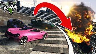 CAR SUMO - GTA 5 ONLINE FUNNY MOMENTS