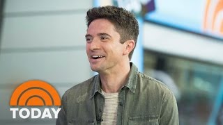 Topher Grace Talks Co-Starring With Brad Pitt In New Film 'War Machine'   TODAY