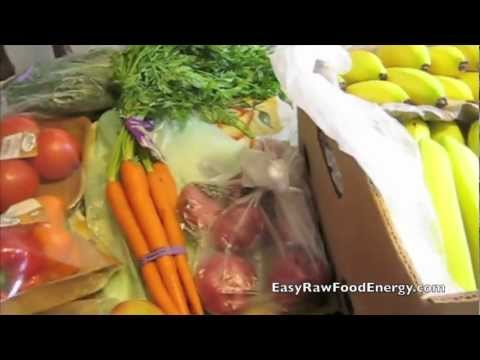 How to Grocery Shop For Healthy Raw Food