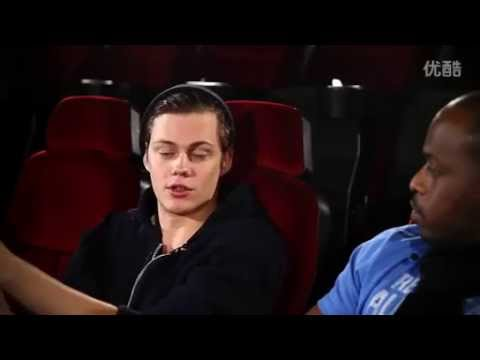 Bill Skarsgård interview - Popcorn