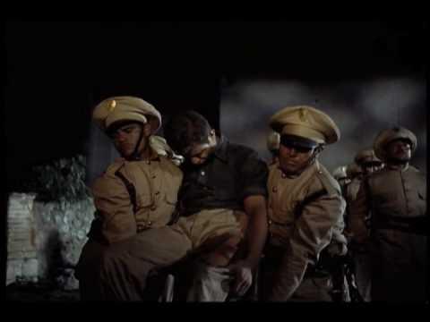 Luis Buñuel's Death in the Garden DVD — execution of a striker