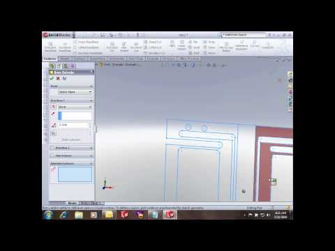 SolidWorks- Converting 2D to 3D