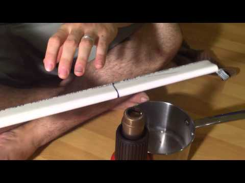 How to Build a Youth Recurve Bow out of Flattened PVC Pipe