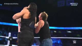 Roman Reigns Saves Dean Ambrose