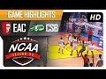 EAC vs. CSB   NCAA 93   MB Game Highlights   July 14, 2017 MP3