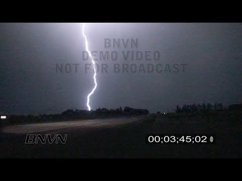 6/24/2009 Vivid Lightning over western Minnesota