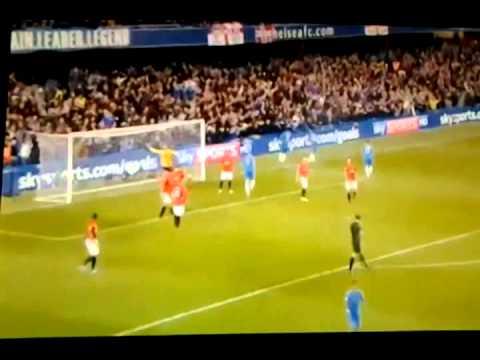 Chelsea 2-3 Manchester United 10/28/12 EPL