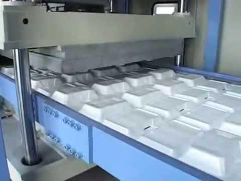 PS FOAM/THERMOCOL PLATES MAKING MACHINE INDIA (SMALL)