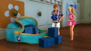 Pixar: Escena del Corto, Vacaciones en Hawaii con Ken y Barbie