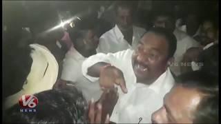 Villagers Insulted TDP MLA Sandra Venkata Veeraiah In Panchayat Election Campaign | Khammam