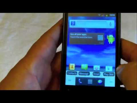 Straight Talk Huawei Ascend 2 Android Demo