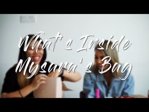 What's Inside An Influencer's Bag ft. Mysara