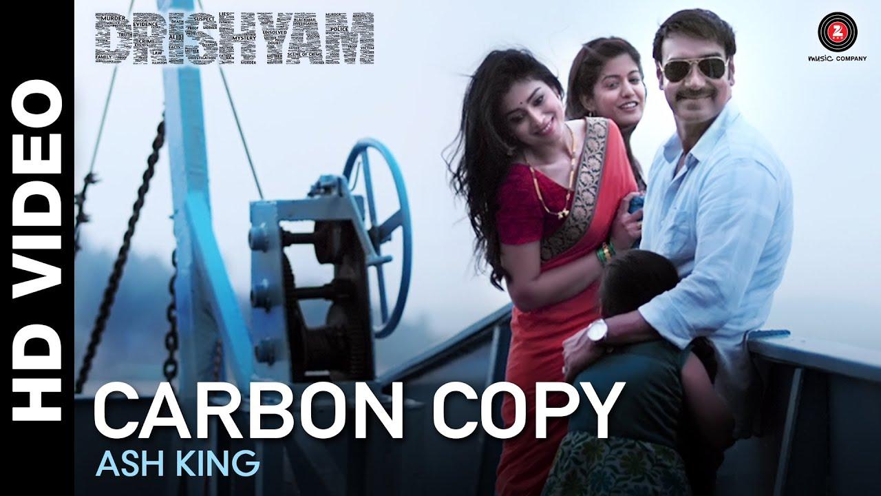 Carbon Copy Video Song – Drishyam (2015) Ajay Devgn & Shriya Saran HD