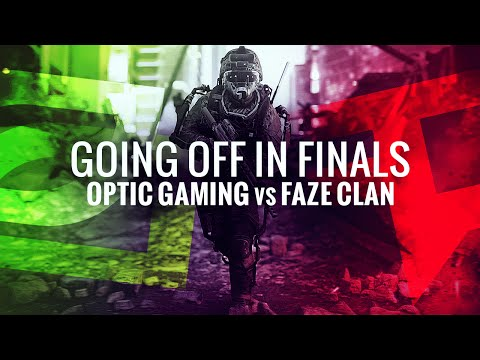Going Off in Finals OpTic Gaming vs. FaZe Clan