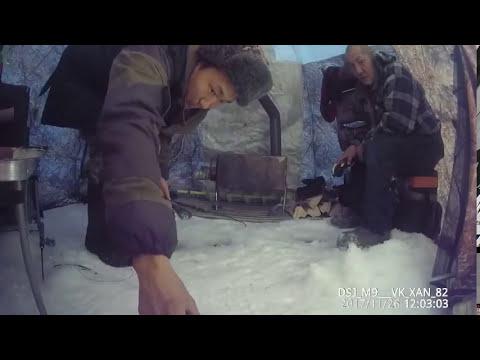 Поймал большую щуку и сигов Якутия Yakutia!