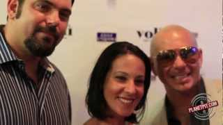 Pitbull/Voli Meet & Greet @ Gulf Liquors-Miami Beach, FL