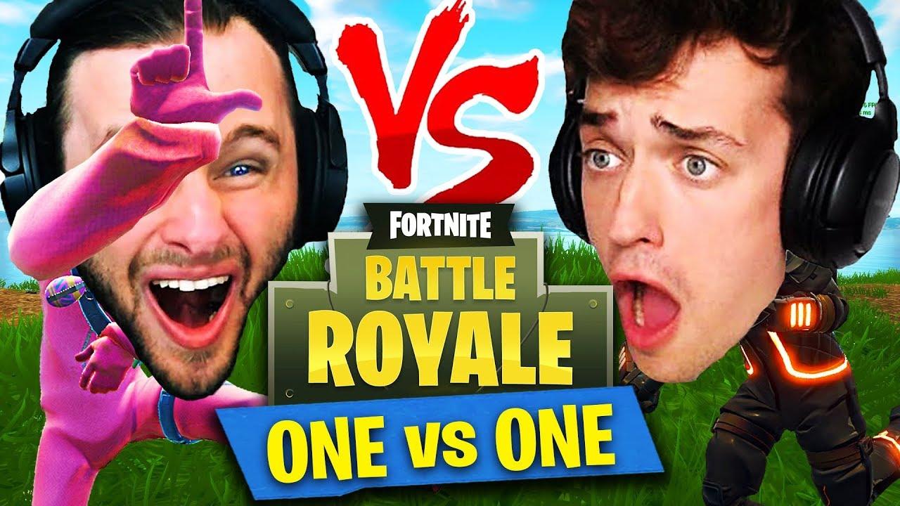 ONE VS ONE in Fortnite: Battle Royale! (SSundee vs Crainer)