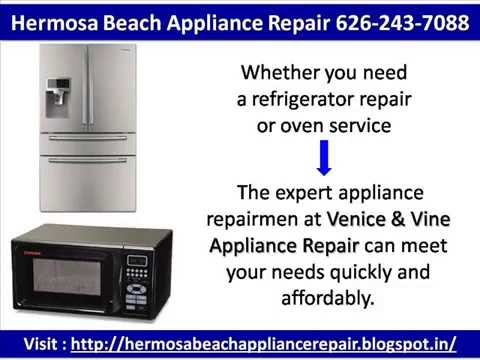 Hermosa Beach Appliance Repair 626-243-7088