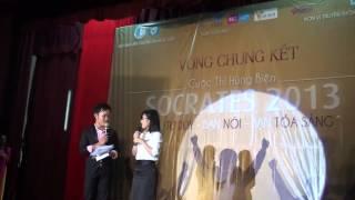 Chung kết Socrates 2013  Hùng biện đỉnh cao - Đinh Thị Ngọc Tú - ĐH Luật Hà Nội