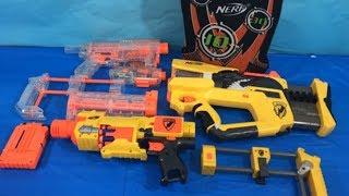 Box of Toys NERF Guns Box Full of Toys Toy Guns Toys for Kids NERF Mods
