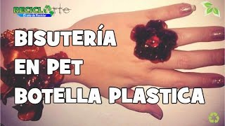 DIT ARETES EN PET BISUTERIA EN PET / JEWELLERY IN PET