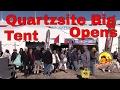 Quartzsite RV Show  2017.....Big Tent Opens...Quartzsite AZ