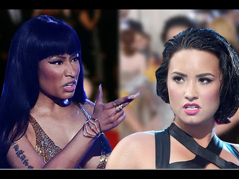 WTF! Demi Lovato & Nicki Minaj Feuding After Met Gala Incident?!