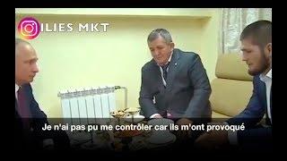 KHABIB RENCONTRE POUTINE !!! EN FRANCAIS