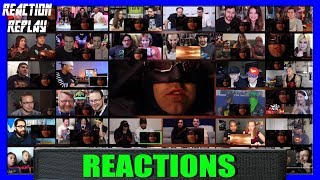 Justice League Official Heroes Trailer Reaction Mashup | Reaction Replay