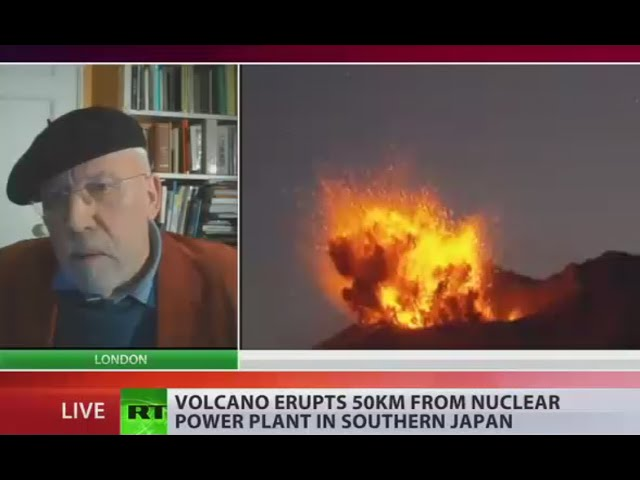 'Fukushima showed there's risk': Japan's volcano erupts in nuclear plant vicinity