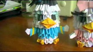 Donald Duck &amp; Daisy Duck (3dorigami)