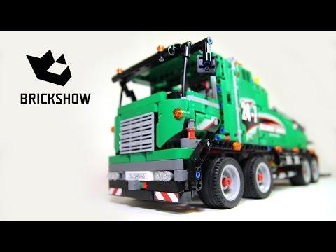 Lego Technic 42008 Service Truck Build & Review