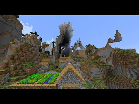 Mega Taiga and Village Seed - MInecraft seed 1.7.4