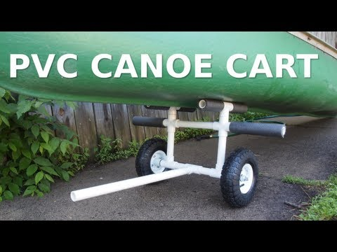 DIY PVC Canoe/Kayak Cart