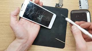 How to disassemble Huawei Ascend G630 - U10 to replace touch screen