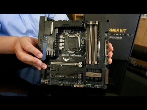 ASUS SABERTOOTH & GRYPHON Z87 TUF Motherboards Hand-On Overview