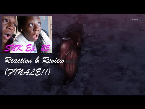 Attack On Titan (SNK) Episode 25 - EPIC Live Reaction & Review - SEASON FINALE!!