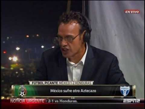 David Faitelson Mexico - Honduras 1-2   2013